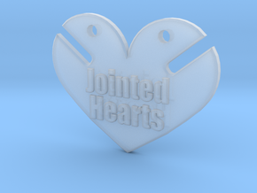 BJD Jointed Hearts  in Smooth Fine Detail Plastic