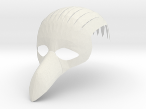 Splicer Mask Bird Rep (IN PROGRESS) in White Strong & Flexible