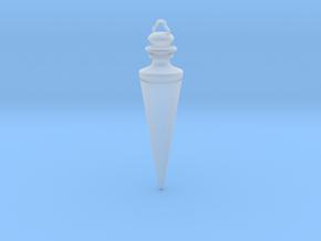 PENDULUM PENDANT in Smooth Fine Detail Plastic