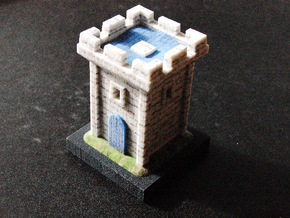 White Tower in Full Color Sandstone