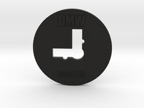 Clay Extruder Die: Corner 004 02 in Black Natural Versatile Plastic