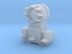 Dwarf B&O CPL-LowerSpdLamps-GndBrkt(1) - HO 87:1 S in Smooth Fine Detail Plastic