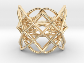 Ring The pattern ll / size 9US (18.9mm) in 14K Yellow Gold