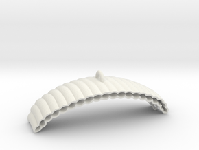 Parachute in White Natural Versatile Plastic