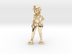 Mouiller Detective Outfit in 14k Gold Plated Brass