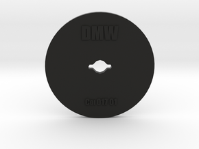 Clay Extruder Die: Coil 017 01 in Black Natural Versatile Plastic