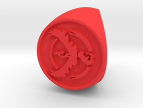 Team Valor Signet US 8 in Red Processed Versatile Plastic
