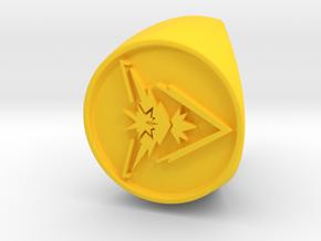 Team Instinct Signet US 6 in Yellow Processed Versatile Plastic