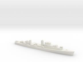 Le Normand-class frigate, 1/1800 in White Natural Versatile Plastic