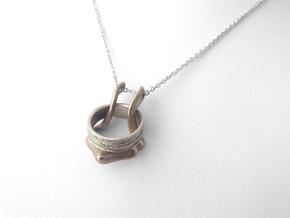 Ring Holder Pendant: Gazelle in Stainless Steel