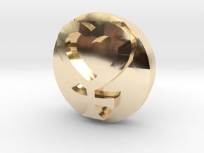 Sailor Mooon Transformation Pen - Venus in 14k Gold Plated Brass