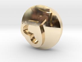 Sailor Mooon Transformation Pen - Mars in 14K Yellow Gold
