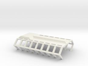 Gagarin Station Shipyard Platform in White Natural Versatile Plastic