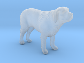 1/22 St Bernard Standing in Smooth Fine Detail Plastic