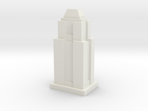 Custom Monopoly Hotel Version 9 (3cm tall) in White Natural Versatile Plastic
