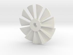 Hélice pour LPE in White Natural Versatile Plastic