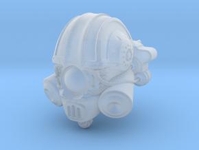Blacklance Knight Scutarius Head in Smooth Fine Detail Plastic
