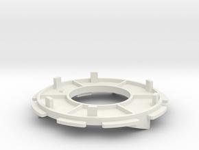 Donkey / Buffalo handle Trust Disk-Left in White Natural Versatile Plastic