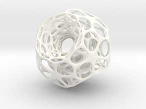 voronoi 2 in White Processed Versatile Plastic