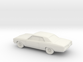 1/87 1964-67 Buick Skylark Coupe in White Natural Versatile Plastic