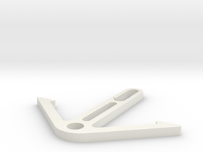 Shoe hanger in White Natural Versatile Plastic
