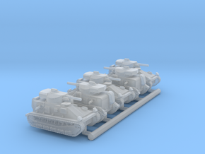 Vickers Medium MkII* (6mm, 5up) in Smooth Fine Detail Plastic