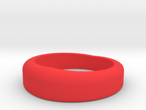 ring01 in Red Strong & Flexible Polished