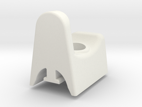 Donkey/ Buffalo Handle  Release Button in White Natural Versatile Plastic
