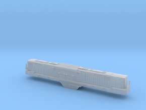 N Scale Alco C-855B Locomotive Shell Only-No Parts in Smooth Fine Detail Plastic