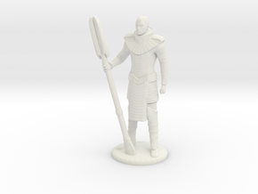 Jaffa Standing Guard -25 mm scale in White Strong & Flexible