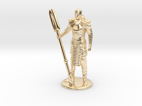 Jaffa Standing Guard -20 mm in 14K Yellow Gold
