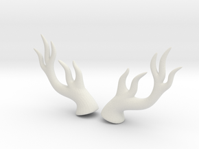 Dryad Antlers: Medium size for Humans in White Strong & Flexible