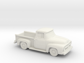 1956 Ford F100 3,5 Inch length in White Natural Versatile Plastic