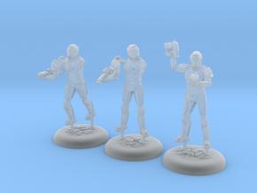 Terran Marine Squad in Smooth Fine Detail Plastic