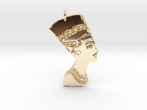 I AM QUEEN in 14k Gold Plated Brass