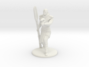 Jaffa Guard Firing his Zat - 20mm tall in White Natural Versatile Plastic