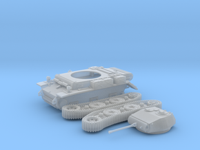 PzKpfw II ausf L - LUCHS (H0) in Smooth Fine Detail Plastic