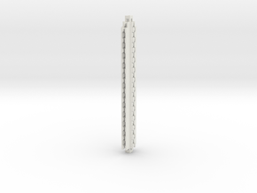 HOvm33 - HO Modular viaduct 1 in White Natural Versatile Plastic