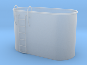 1/48 Tub for two MK51 gun control in Smooth Fine Detail Plastic