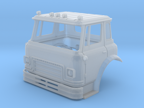 TT-Scale (1/120) International Cargostar Cab in Frosted Extreme Detail