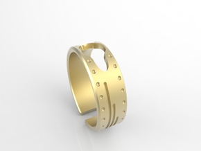 Arky Bracelet in Polished Gold Steel