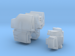 Communications Officer Head for CW Deluxe Truck in Smooth Fine Detail Plastic