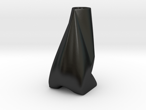 Good Posture in Matte Black Porcelain