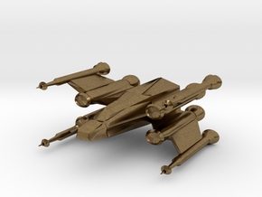 Space Fighter in Natural Bronze