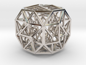 The Cosmic Cube Small in Platinum