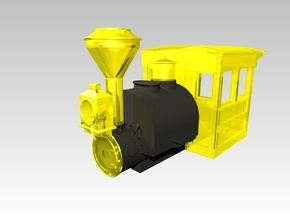 HOn30 Porter Saddle Tank and Boiler in Smoothest Fine Detail Plastic