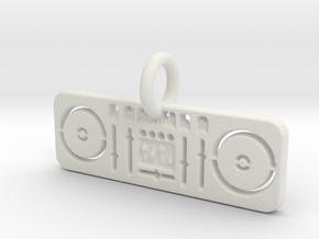 Music Mixer  in White Natural Versatile Plastic