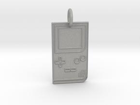Game Boy 1989 Pendant in Aluminum