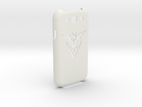 Samsung Galaxy S3 PokemonGO Team Instinct in White Natural Versatile Plastic