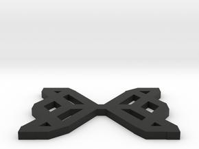 Hexa Pendent in Black Natural Versatile Plastic